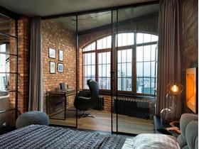 Как создать интерьер Лофт в маленькой квартире